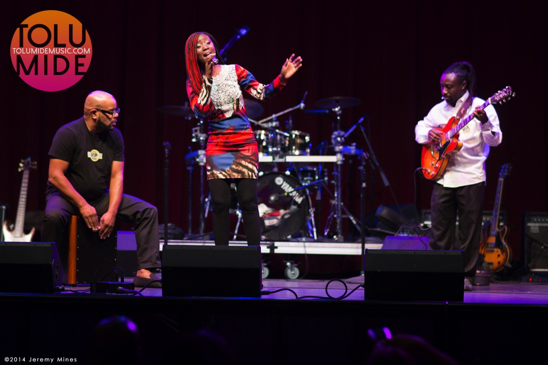 TolumiDE Performance Fillmore Silver Spring MD October 2014 Ebola Relief Concert - 16