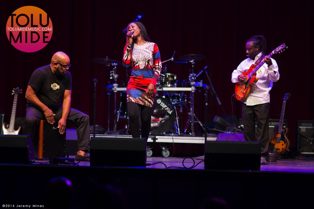 TolumiDE Performance Fillmore Silver Spring MD October 2014 Ebola Relief Concert - 17